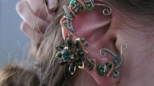 Elven Ear-Cuff by theycallherecho
