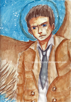 Castiel by goldenthyme