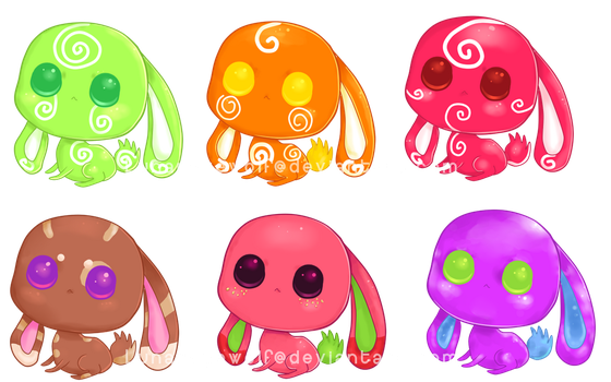 Adoptables Batch 3 .:Only 1 left:. by Pietastic-Creations