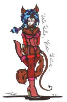 Miss Kitty Whip by diffy
