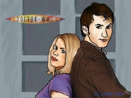 : Doctor and Rose : by SJWood