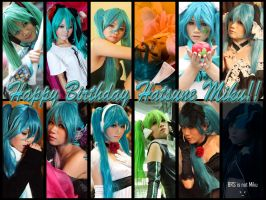 Happy Birthday Hatsune Miku by sakana