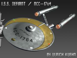 STAR TREK - BREAKABLE: ISS DEFIANT by ulimann644