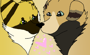 Brittany And Jacob Together 5ever by KailoCakes