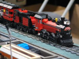 Modified Lego Hogwarts express by TaionaFan369