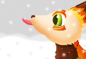 :SS: Kaze Catching a Snowflake by GlassFeline