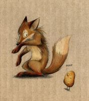 The Fox and the Potato by Skia