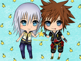 ~ Riku and Sora ~ by Mikoti