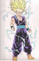 Son Gohan SSJ2 by markkevinmanding