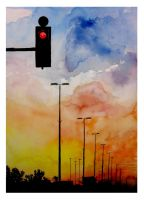 Red Light by PauliDiaz