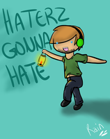 Pewds ~Haterz Gonna Hate~ by Rain23432