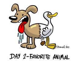 Day 2 - Favorite Animal by Juanele