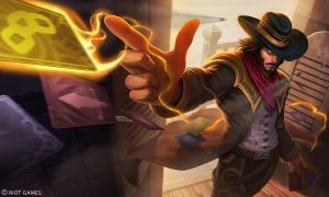 High Noon Twisted Fate Splash by Yideth