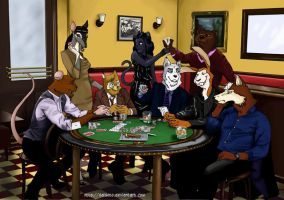 NCIS PokerGame by Saisoto