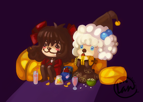 For Halloween 2010 by Landale