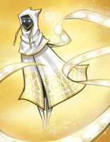 White Cloak Rafiqa by CaptainMoony