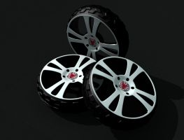 project rims and tires by tuner7000