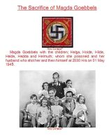 The Sacrifice of Magda Goebbels by Kelly2014