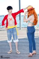 One Piece Cosplay - On the Docks 5 by notomorrowgirls