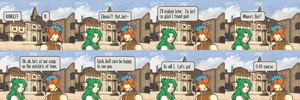 DoD Comic 9: Elincia Finds Ranulf by Great-Aether