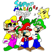 Super mario 64 DS by FANG-FOREVER