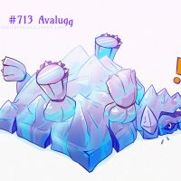 day 34 #713 Avalugg