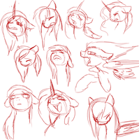 Expression practice -sadness- by katze-des-grauens