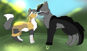 New Apprentice! :D by XFlying-With-FireX