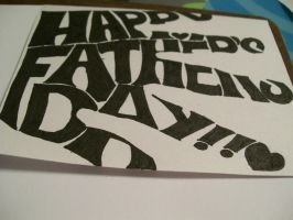 Fathers Day card-cover 2 by ryoko-mitsirughi