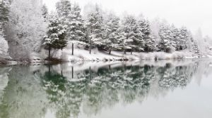 Lake in winter time 2 by sigamas