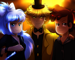The Badass Trio by Jack-a-Lynn