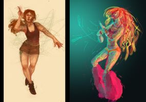 Movement Sketches by CannedTalent