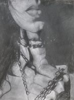 Woman and chain by Claire-Elise17