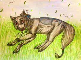 Covey in the grass by Satuka