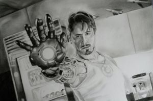 Tony Stark (RedrawingART Contest entry) by tofu0004