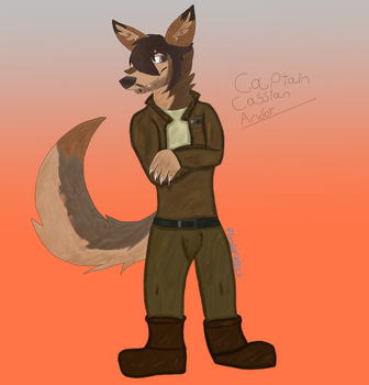 Captain Cassian Andor by Finnickyy-Lucario