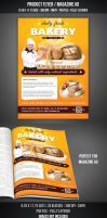 Bakery Flyer / Magazine AD by graphicstock