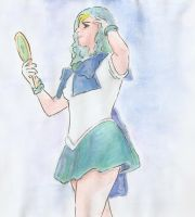 Sailor Neptune by HeartlessHollow07