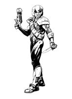 Strontium Dog, Johnny Alpha by Paul-Moore