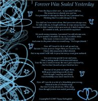 Forever Was Sealed Yesterday by Thisyankeerocks