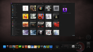 Windows 8.1 Pro Libraries Music by Agamemmnon