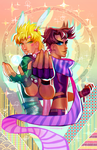 Battle Tendency by Kiddy-chan