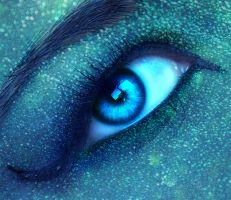 + Mermaid Eye + by Miriette-Le-Fay