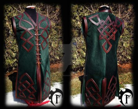 Wedding celtic vest :) by Feral-Workshop