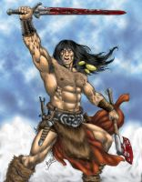 Conan the Barbarian - 2001 by RubusTheBarbarian