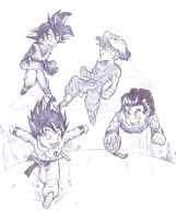 dragon ball quest by bloodsplach