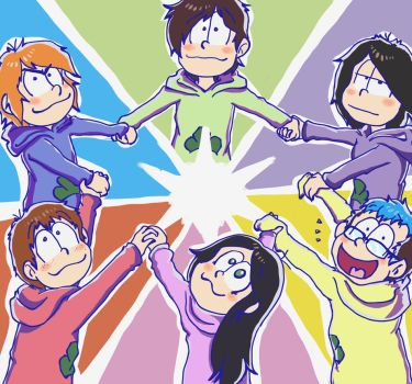 Our Epic Matsuno-Family !! (For nuukava) by Hukkis