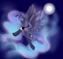 The mare of the moon by popturt