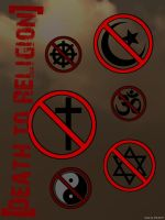 Death to Religion Poster by D3L1GHT