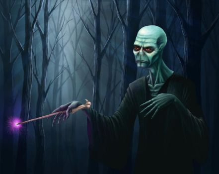 Lord Voldemort by De4dite